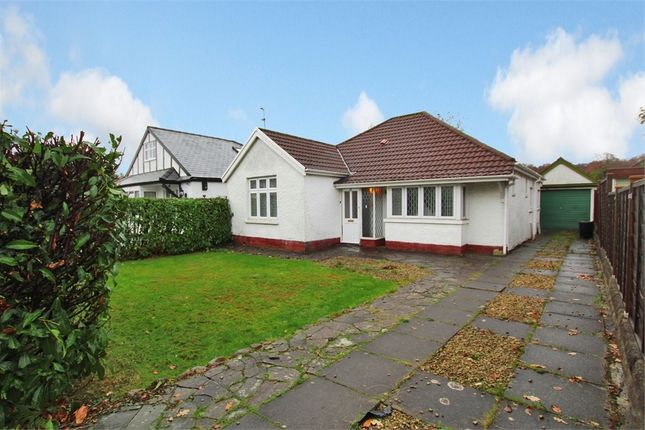 Thumbnail Detached bungalow for sale in Bettws-Y-Coed Road, Cyncoed, Cardiff