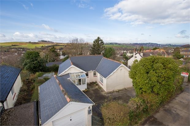 Thumbnail Detached bungalow for sale in Vale Road, Kingskerswell, Newton Abbot, Devon.