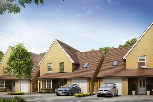 "Thumbnail Detached house for sale in ""Harrogate"" at Bevans Lane, Pontrhydyrun, Cwmbran"