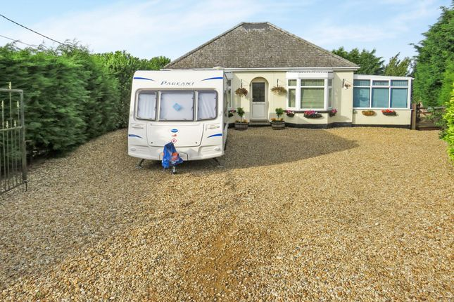 Thumbnail Detached bungalow for sale in Whitemoor Road, March