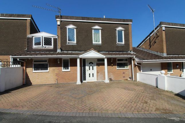 Thumbnail Link-detached house for sale in Lockington Avenue, Hartley, Plymouth