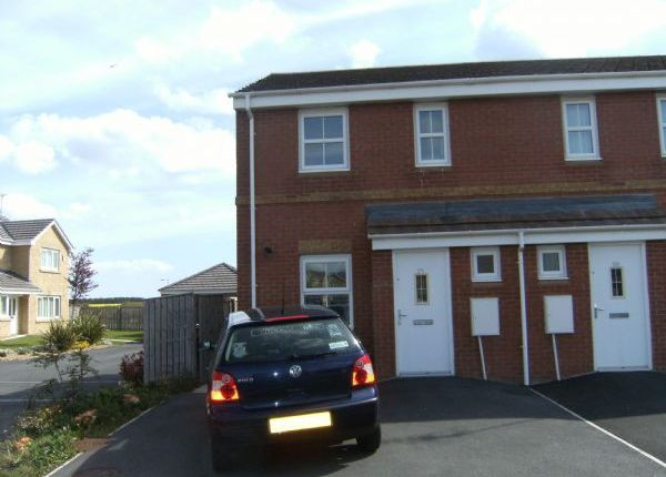 Thumbnail End terrace house to rent in The Dunes, Hadston, Morpeth