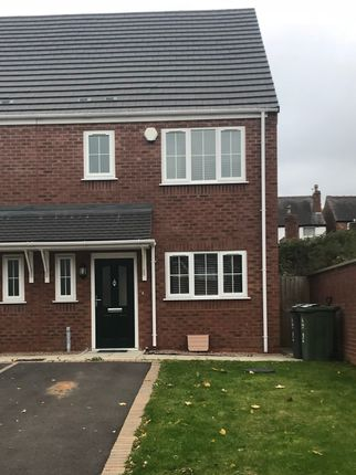 Thumbnail Detached house to rent in Imperial Close, Darlaston