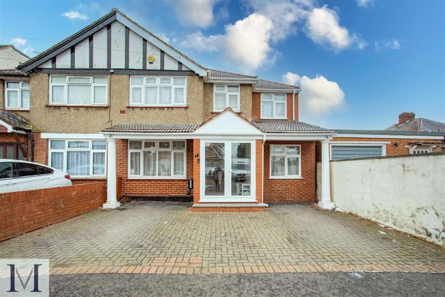 Thumbnail Semi-detached house for sale in Monmouth Road, Hayes