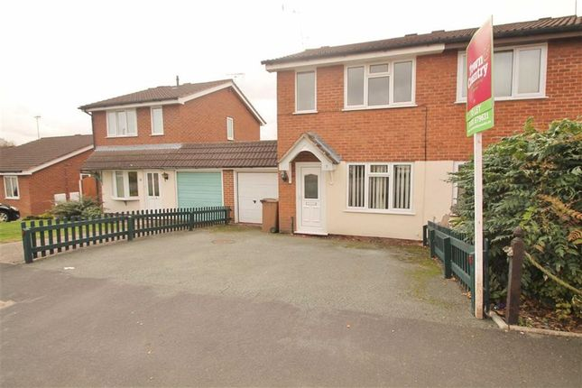 Thumbnail Semi-detached house to rent in Middleton Close, Oswestry