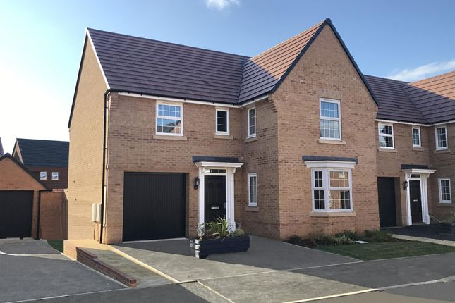 "Thumbnail Detached house for sale in ""Drummond"" at Park View, Moulton, Northampton"
