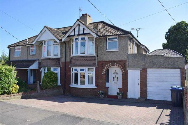 Thumbnail Semi-detached house for sale in Park Avenue, Chippenham, Wiltshire