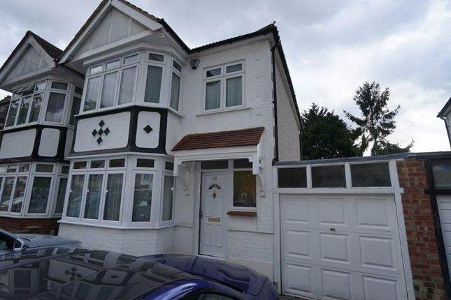 Thumbnail Semi-detached house to rent in Cecil Avenue, Hornchurch