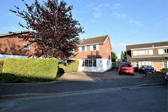 Semi-detached house for sale in Shelsley Drive, Parklands, Northampton