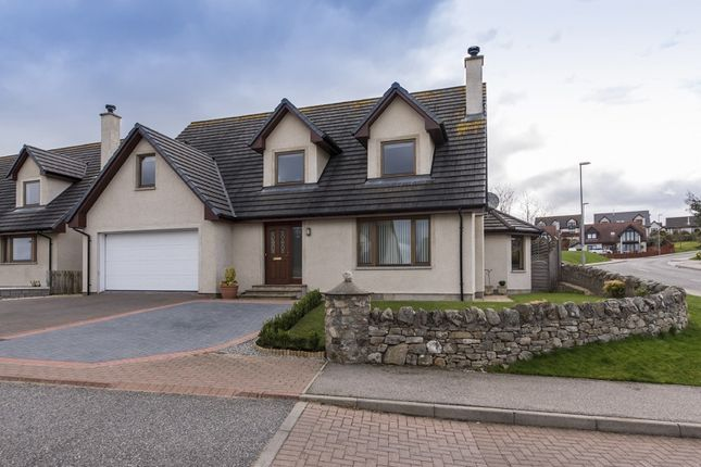Thumbnail Detached house for sale in Woodside Gardens, Westhill, Inverness, Highland