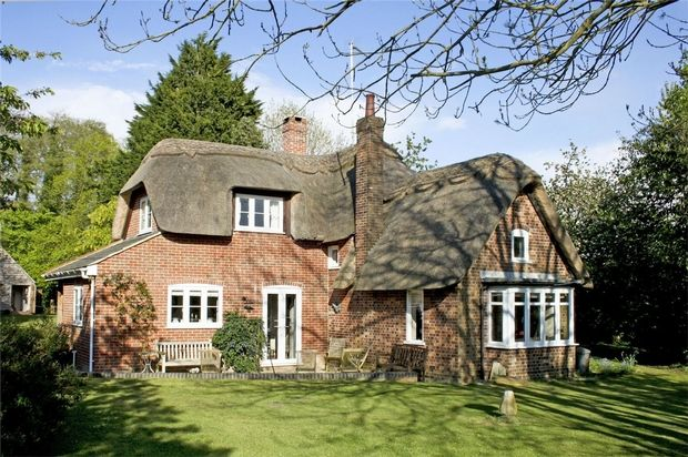 Thumbnail Detached house for sale in Blashford, Ringwood, Hampshire