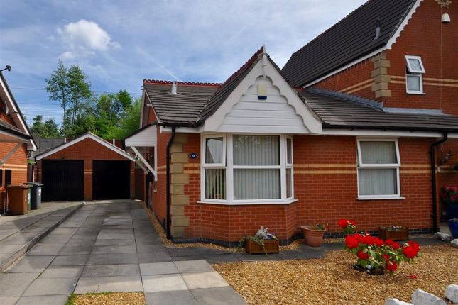 Thumbnail Semi-detached bungalow for sale in Albert Avenue, Dukinfield