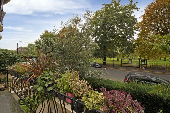 Balcony View of Albert Terrace, Primrose Hill, London NW1