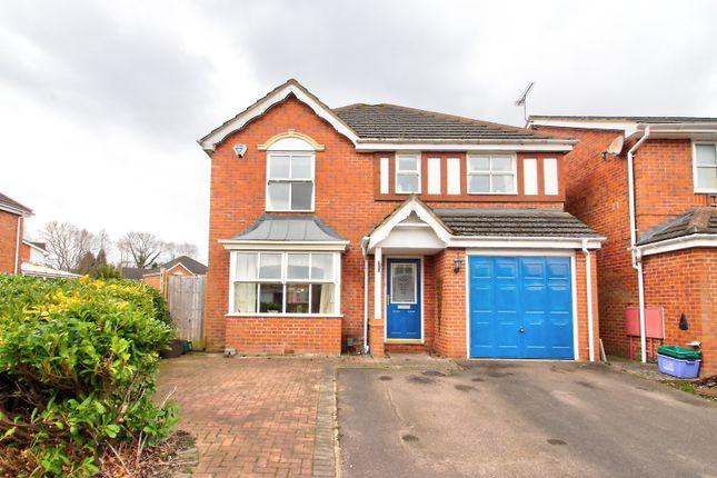 Thumbnail Detached house for sale in Hawker Road, Ash Vale, Aldershot