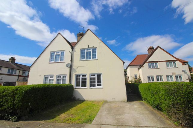 Thumbnail Semi-detached house for sale in Cavell Road, London