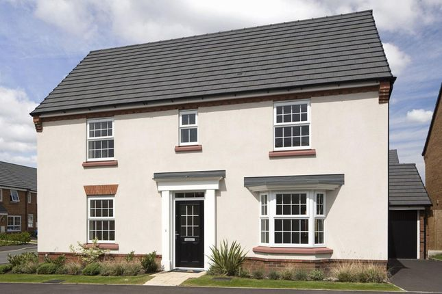 """Thumbnail Detached house for sale in """"Layton"""" at Welbeck Avenue, Burbage, Hinckley"""