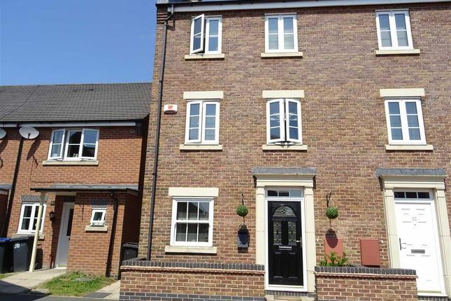 Thumbnail Semi-detached house for sale in Overlord Drive, Hinckley