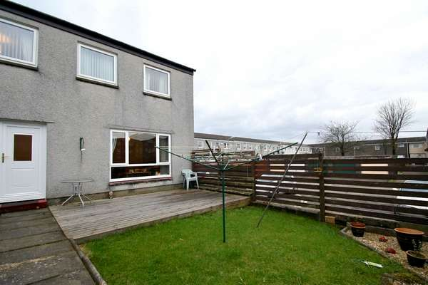 Thumbnail End terrace house for sale in 13 Ashiestiel Road, Cumbernauld, Glasgow