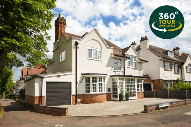 Thumbnail Detached house for sale in Barrington Road, Stoneygate, Leicester