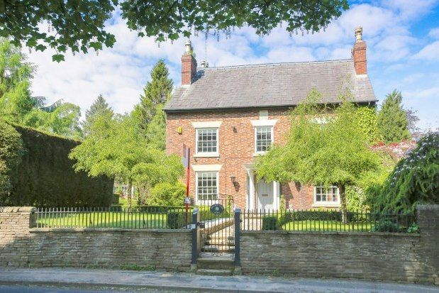 Thumbnail Detached house to rent in Macclesfield Road, Macclesfield