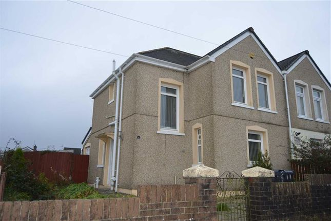 Thumbnail Semi-detached house to rent in Heol Bonymaen, Pant, Merthyr Tydfil