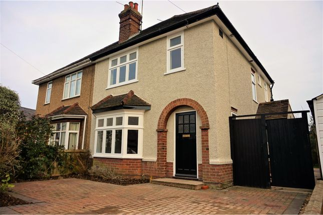 Thumbnail Semi-detached house for sale in Audley Road, Colchester