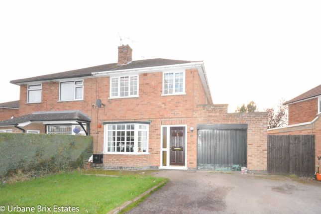 Thumbnail Semi-detached house for sale in Sharnford Road Sapcote, Leicester