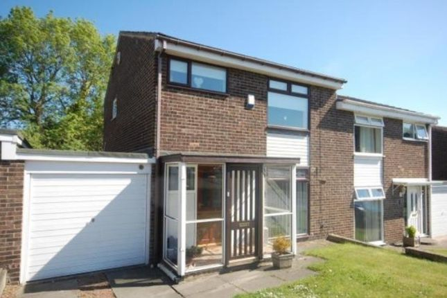 3 bed semi-detached house to rent in Errington Drive, Tanfield Lea, Stanley