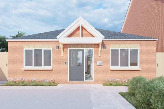 Thumbnail Bungalow for sale in Staverton Close, Leicester, Off Scraptoft Lane