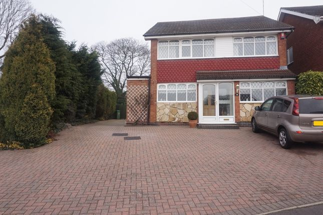 Thumbnail Detached house for sale in Heather Road, Great Barr, Birmingham