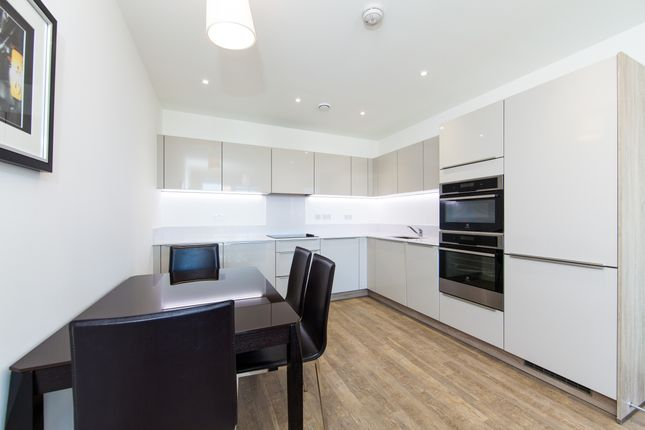 Kitchen of Poldo House, Enderby Wharf, Greenwich SE10
