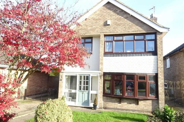 Thumbnail Detached house for sale in John Bold Avenue, Stoney Stanton, Leicester