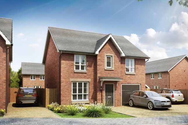 "Thumbnail Detached house for sale in ""Corgarff"" at Inverlair Avenue, Glasgow"