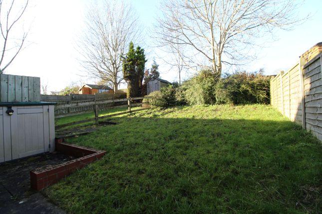 Rear Garden of Wimborne Crescent, Milton Keynes MK4