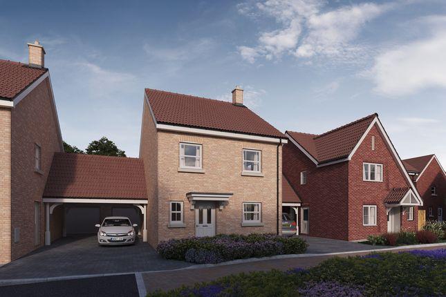 Thumbnail Detached house for sale in Plot 10, 'the Chancellors', Bedford Road, Moggerhanger