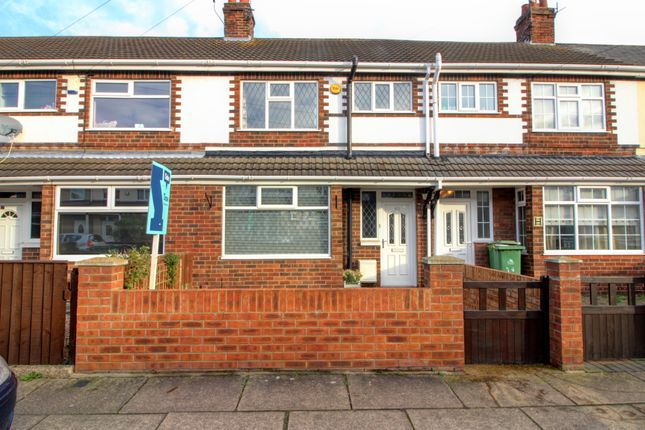 Thumbnail Terraced house for sale in Wentworth Road, Grimsby