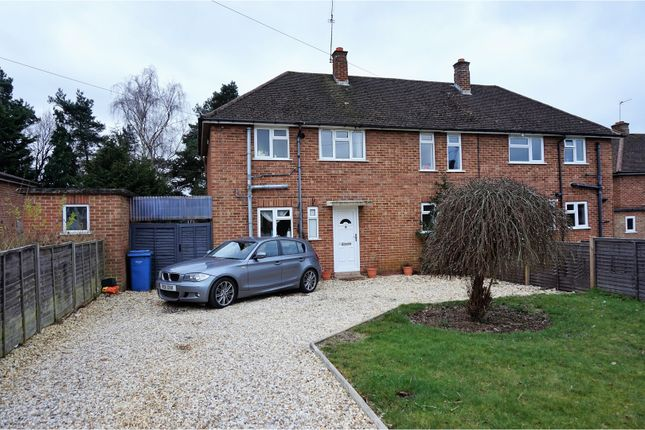 Thumbnail Semi-detached house for sale in Champion Way, Fleet