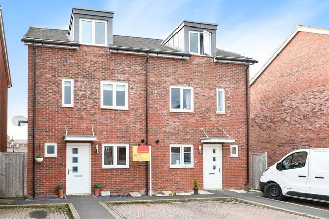Thumbnail Town house to rent in Gilliflower Street, Berryfields