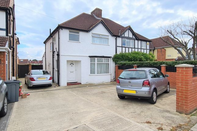 Thumbnail Semi-detached house to rent in The Crossways, Heston