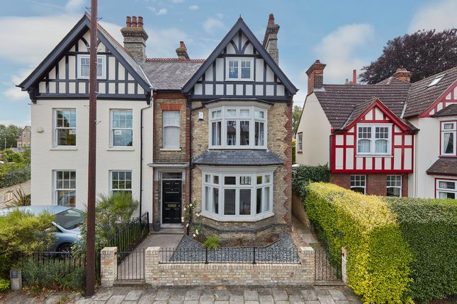 Thumbnail Semi-detached house for sale in St. Barnabas Road, Cambridge