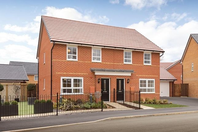 "End terrace house for sale in ""Folkestone"" at Ponds Court Business, Genesis Way, Consett"