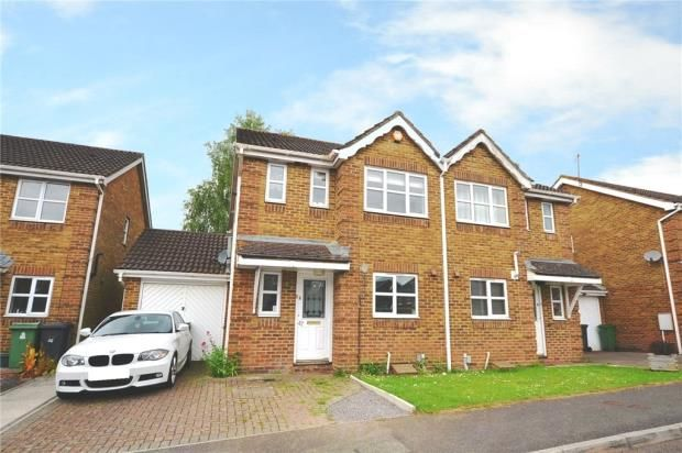 Thumbnail Semi-detached house for sale in Lime Gardens, Basingstoke, Hampshire