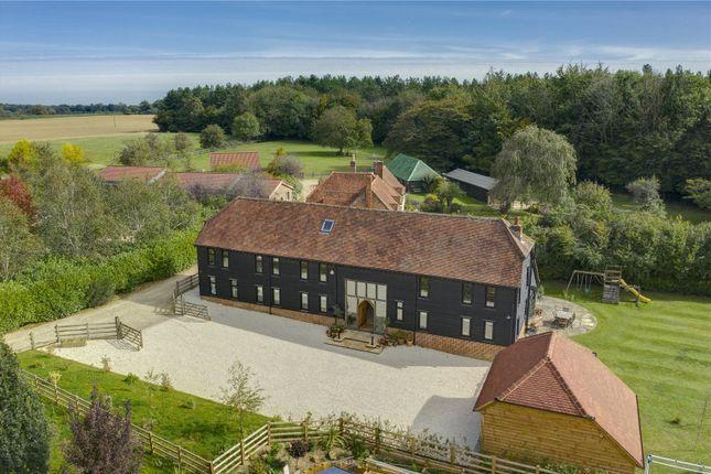 Thumbnail Barn conversion for sale in Weedon Hill, Hyde Heath, Amersham, Buckinghamshire