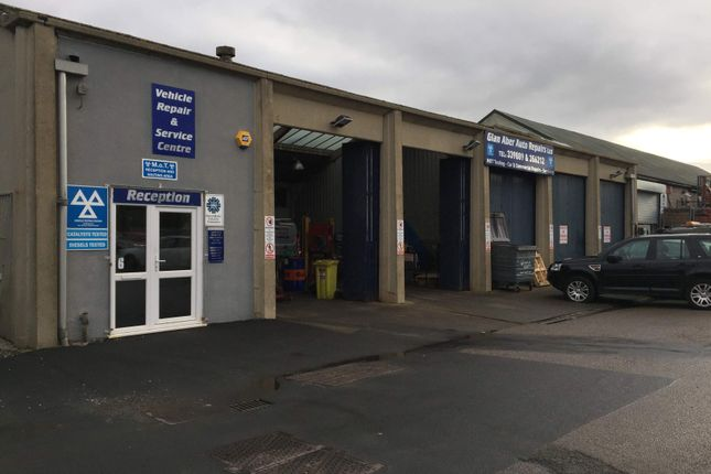 Thumbnail Light industrial to let in Unit 6 Glan Aber Trading Estate, Vale Road, Rhyl