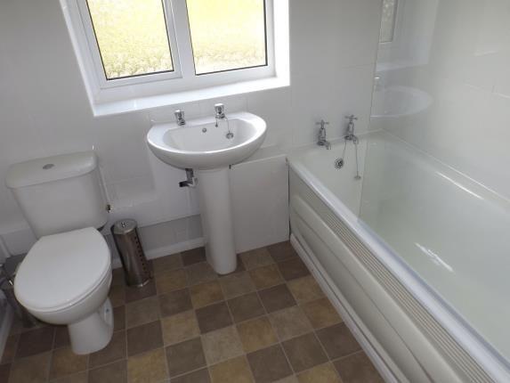 Bathroom of Lammas Close, Husbands Bosworth, Lutterworth, Leicestershire LE17