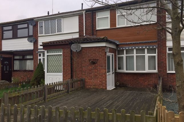 Thumbnail Terraced house to rent in Brewster Close, Coventry