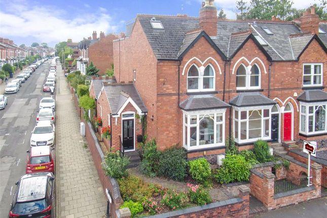 Thumbnail End terrace house for sale in Park Hill Road, Harborne, Birmingham