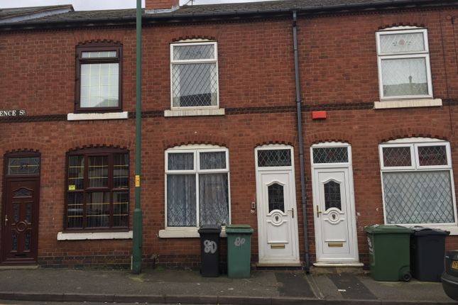 Thumbnail Terraced house to rent in Florence Street, Walsall, West Midlands