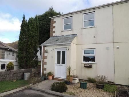 Thumbnail Semi-detached house for sale in Carn Bargus, Nanpean, St. Austell