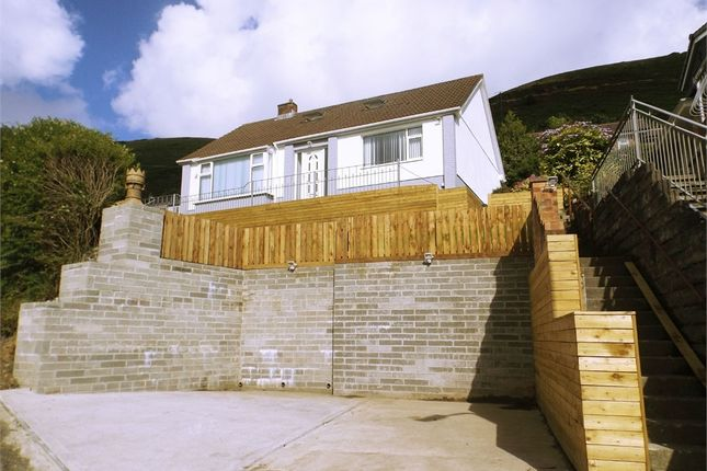 Thumbnail Detached bungalow for sale in Lletty Harri, Pen Y Cae, Port Talbot, West Glamorgan